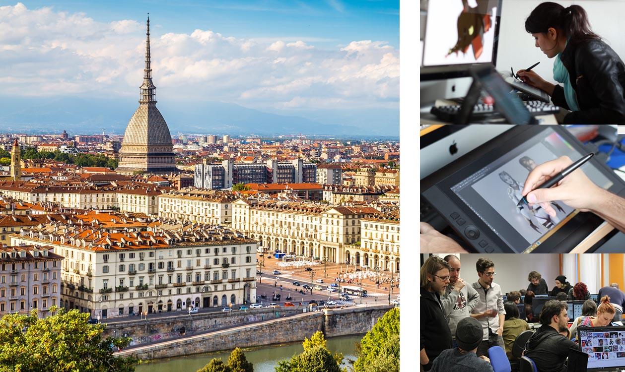 Scuola di arti digitali e nuove tecnologie a Torino