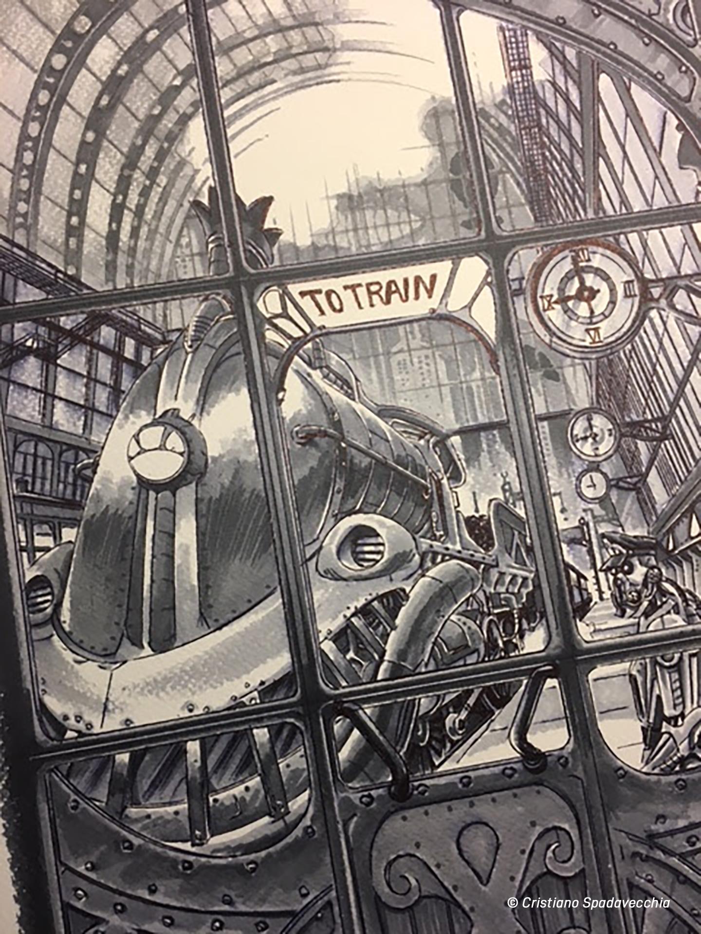 Cristiano Spadavecchia Master di Fumetto
